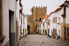Miranda do Douro, Portugal stock afbeelding