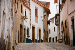 Miranda do Douro street Stock Images