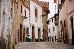 Miranda do Douro street Stock Images