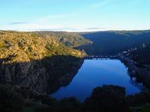 Miranda hace Douro, Portugal foto de archivo