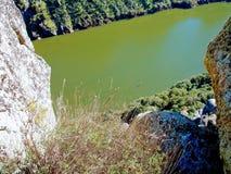 Miranda hace Douro, Portugal imagen de archivo