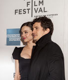 Miranda Kerr and Orlando Bloom Royalty Free Stock Photos