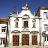 Mirandela kyrka av förskoning Royaltyfria Bilder