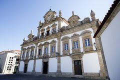 Mirandela stadshus Arkivbilder