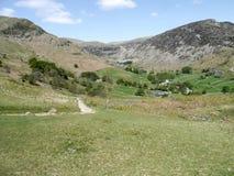 Mirando abajo en el valle de Glenridding, distrito del lago Imagen de archivo