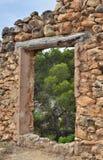 Mirando Gr valle del Turia Stock Foto