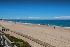 Mirante beach in Santa Cruz, Portugal. Royalty Free Stock Photography