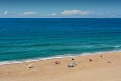 Mirante beach in Santa Cruz, Portugal. Royalty Free Stock Image