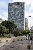 Mirante do Vale κτήριο στην κοιλάδα Anhangabau Στοκ εικόνες με δικαίωμα ελεύθερης χρήσης