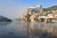 Miravet, Mediterranean town, Tarragona. (Spain) Royalty Free Stock Photos