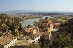 Miravet village in Catalunya, Spain Stock Photos