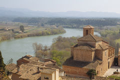 Miravet village in Catalunya, Spain royalty free stock photo