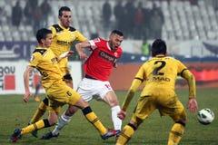 FC Dinamo Bucharest FC Brasov Stockfotografie