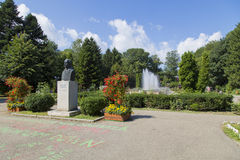 Mircea Cancicov park Royalty Free Stock Photography