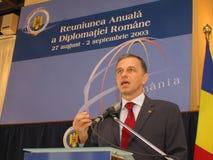 Mircea Geoana Immagine Stock