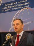 Mircea Geoana Stockfotos