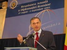 Mircea Geoana Lizenzfreie Stockbilder