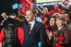 Mircea Geoana Elections Fotos de archivo