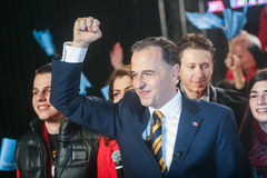 Mircea Geoana Elections Foto de archivo libre de regalías