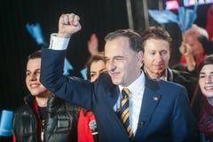 Mircea Geoana Elections Lizenzfreies Stockfoto