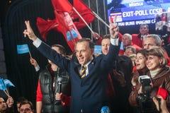 Mircea Geoana Elections Imagen de archivo libre de regalías