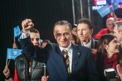Mircea Geoana Elections Fotografía de archivo