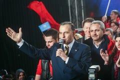 Mircea Geoana Elections Stockbild