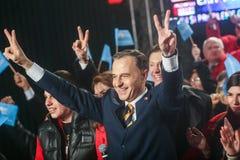 Mircea Geoana Elections Fotos de archivo libres de regalías