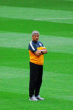 Mircea Lucescu - Head Coach of FC Shakhtar Stock Images