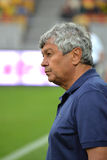 Mircea Lucescu. Head coach of Shakhtar team Royalty Free Stock Photo