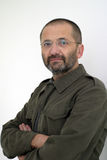 Mircea Toma. Is a well known romania Jornalist wich worked for Academia Catavencu newspaper Royalty Free Stock Photography