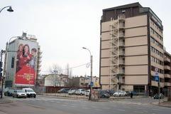 Mircea voda boulevard Stock Photos