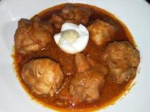Mirchi цыпленка laal стоковые изображения rf