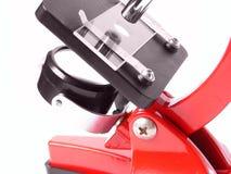 Mircoscope rosso Fotografie Stock