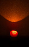Mire al trasluz el burning en la obscuridad Imagen de archivo libre de regalías