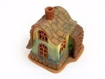 Mire al trasluz la casa de la decoración Imágenes de archivo libres de regalías