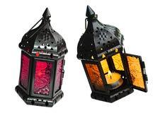 Mire al trasluz las lámparas Foto de archivo