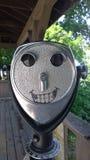 Mire con la sonrisa el parque de estado de Letchworth Imágenes de archivo libres de regalías