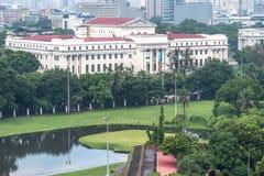 Mire 11 de junio de 2017 el Museo Nacional de las Filipinas de adentro Imagen de archivo libre de regalías