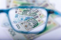 Mire el dinero Foto de archivo