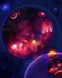 Mire en espacio Foto de archivo libre de regalías