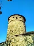 Mire la torre, puertas rusas, Kamenets-Podolskiy, Ucrania Fotos de archivo libres de regalías
