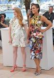 Mireille Enos & Rosario Dawson Royalty Free Stock Images