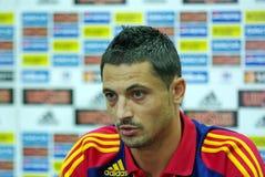 Mirel Radoi, il giocatore del rumeno di gioco del calcio Fotografia Stock