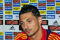 Mirel Radoi, le joueur de football Images libres de droits