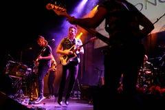 Miremonos (hiszpańszczyzna zespół) wykonuje przy Apolo (miejsce wydarzenia) Obraz Royalty Free