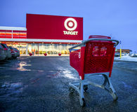 Miri al deposito nel centro commerciale di Sunridge, Calgary Alberta immagine stock libera da diritti