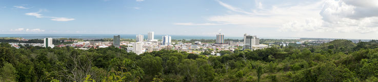 Miri City Stock Image