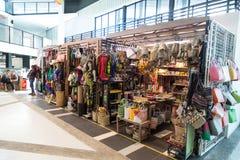 MIRI, SARAWAK, o 1º de setembro de 2018: Promo de Miri Handicraft Center fotos de stock