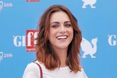 Miriam Leone  at Giffoni Film Festival 2016 Royalty Free Stock Photo